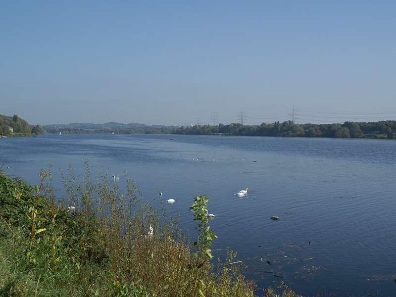 Am nordöstlichen Ufer des Kemnader Sees; Foto: 15.10.2007, Bochum-Stiepel