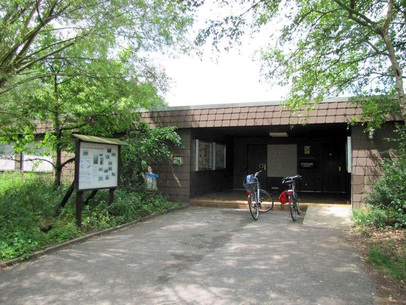 Die Biologische Station der Rieselfelder Münster; Foto: 18.06.2011, Münster