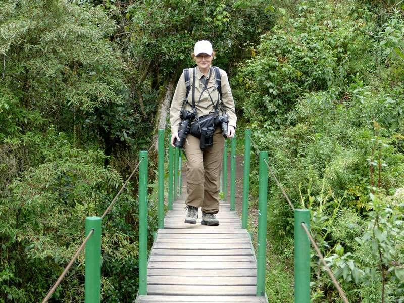 Wenn sich jemand fragt, weshalb ich mich manchmal wie ein Packesel gefühlt habe - die täglich geschleppte Fotoausrüstung wog deutlich über 10 kg; Foto: Ralph Sommer/Ecuador-Discover.de