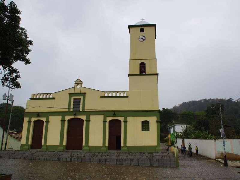 Die Iglesia San José in Canoabo; Foto: 18.04.2013, Canoabo