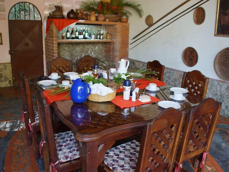 Der Speisesaal der Casa Maria; Foto: 22.04.2013, Nähe Bejuma