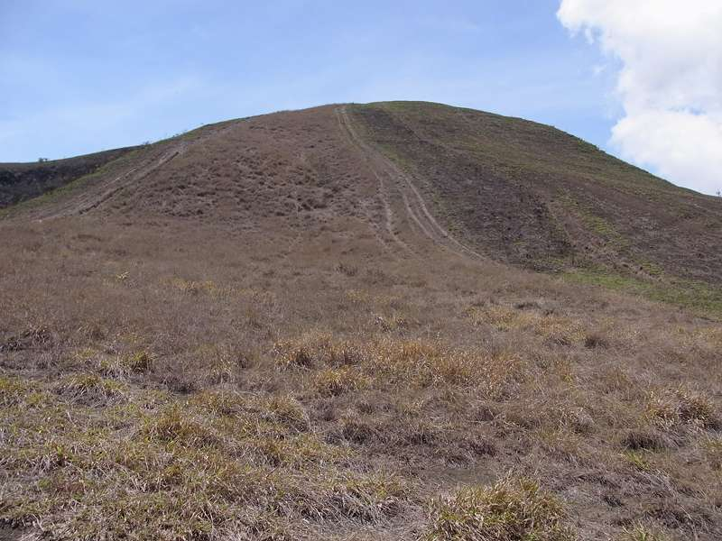 'Mondlandschaft' am Cerro San Isidro; Foto: 22.04.2013, Nähe Montalbán